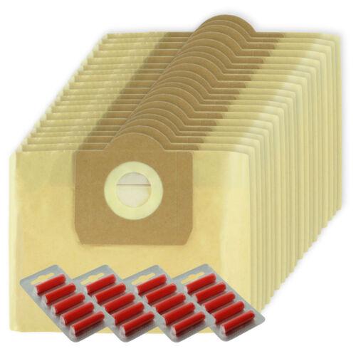 20 Doppia Filtrazione Sacchetti di grandi dimensioni per KARCHER WD3 WD3P MV3 Wet /& Dry Aspirapolvere