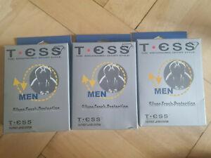 3 Slips von T.ESS; Silver-Fresh-Protection; 3-D First Layer System weiss, Gr XXL