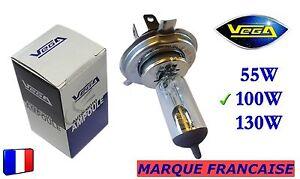 Ampoule-Halogene-VEGA-034-MAXI-034-Marque-Francaise-H4-100W-Auto-Moto-Phare-Avant