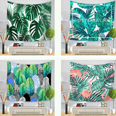 tropical home decor uk tropical palm leaves tapestry wall hanging mandala bedspread throw  tropical palm leaves tapestry wall