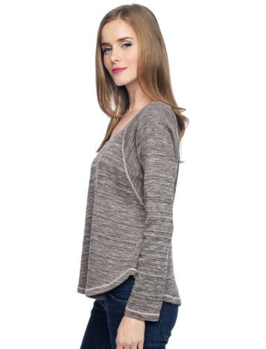 98 Sweatshirt Marble 887883662859 Splendid Rosewater Nwt Xs Termisk Langærmet Sweater 4p14w