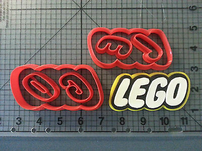 Cartoon Logo 101 Cookie Cutter Set