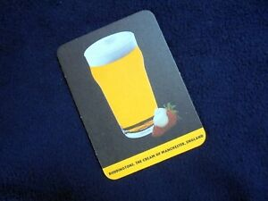 COLLECTIBLE-BEERMATS-BODDINGTONS-THE-CREAM-OF-MANCHESTER-ENGLAND-034-STRAWBERRY-034