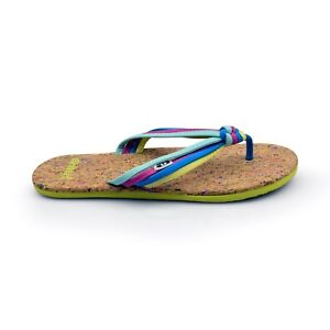 a871faf98e9640 Animal® Summer Women s Knotted Multi Colour Flip Flops Sandals Brand ...