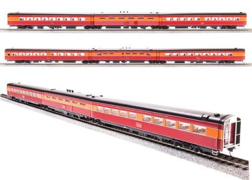 BROADWAY LIMITED  686 HO SP DAYLIGHT ARTICULATED COFFEE, KITCHEN, DINER 3 CAR SE