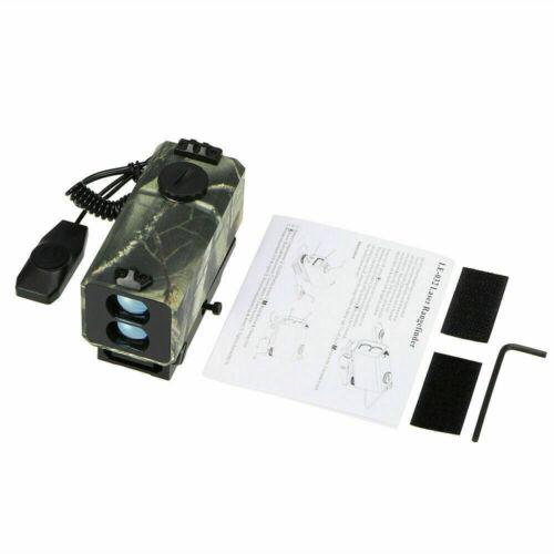LE-032 Mini Laser Rangefinder Rifle Scope Mate Hunting Bow-700yard Archey Mode