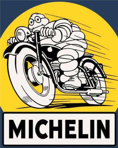 MICHELIN TYRES CAR MECHANIC MOTORCYCLE GARAGE WORKSHOP METAL PLAQUE TIN SIGN 354