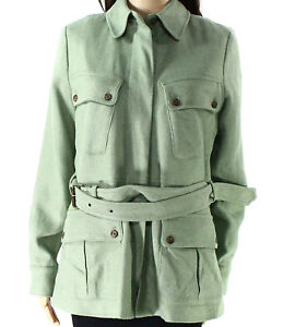 7388 Lauren Zip 12 Green Jacket Ralph Womens Tweed 2 Front GqzMpUVS