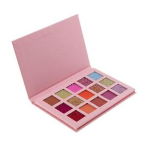 15 couleurs palette de fard à paupières mat maquillage paillettes