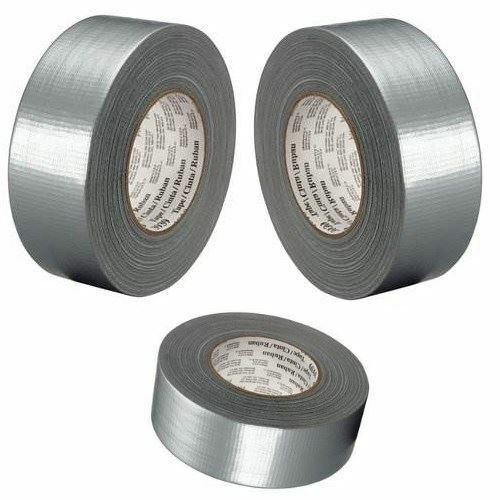 BUY 3 GET 1 FREE SILVER GAFFA GAFFER DUCT TAPE 50mm x 25m ADHESIVE WATERPROOF