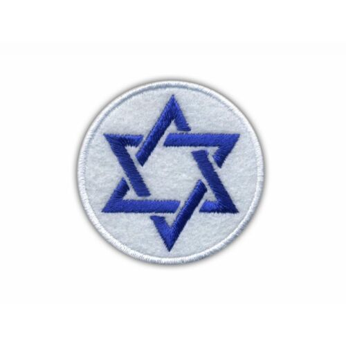 Star of David Embroidered PATCH//BADGE