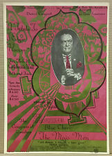 A TRIBUTE TO J EDGAR HOOVER Blue Cheer Rick Griffin Original 1967 Concert Poster
