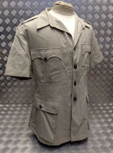 Genuine British RAF Tropical Bush Short Sleeved Safari Jacket With//Out Buttons