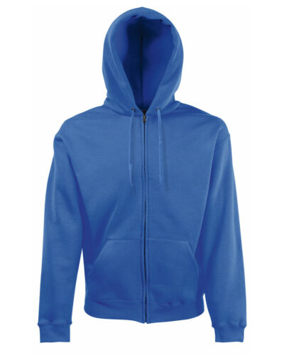 Fruit Of The Loom Men/'s Classic Hooded Sweat Jacket 62062