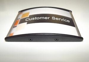 Dekoration Gewidmet Büroschild Türschild Aus Aluminium 10 X 6,5 Cm Gewölbt Weich Und Leicht Werbung & Reklame