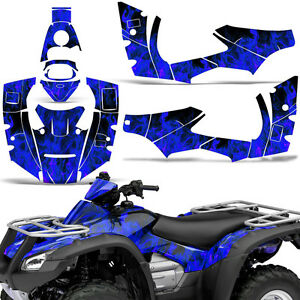 Graphic Kit Honda Rincon Atv Quad Decals Sticker Wrap Fourtrax Parts 06 14 Ice U Ebay