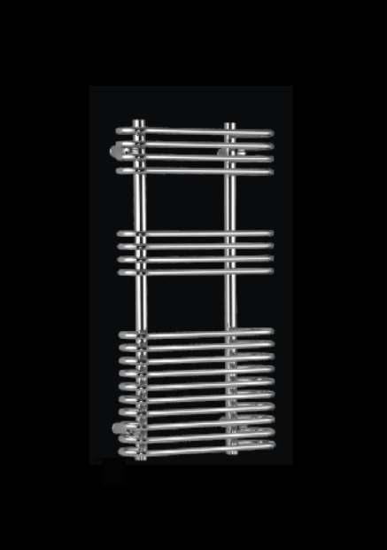 Manav Design Badheizkörper, weiß, 500x1200 mm, Anschlussabstad 30 cm cm cm ,  B-Ware 9f50cf