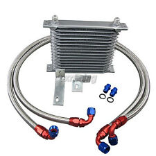 CXRacing Oil Cooler + Line Upgrade Kit For Mitsubishi 3000GT GTO Stealth Turbo