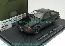 1/43 EBBRO 44494 TOYOTA AE86 SPRINTER TRUENO Black diecast metal model car
