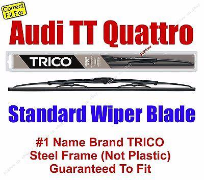 fits 2000-2003 Audi TT - 30210 Qty 1 Wiper Blade Standard Grade
