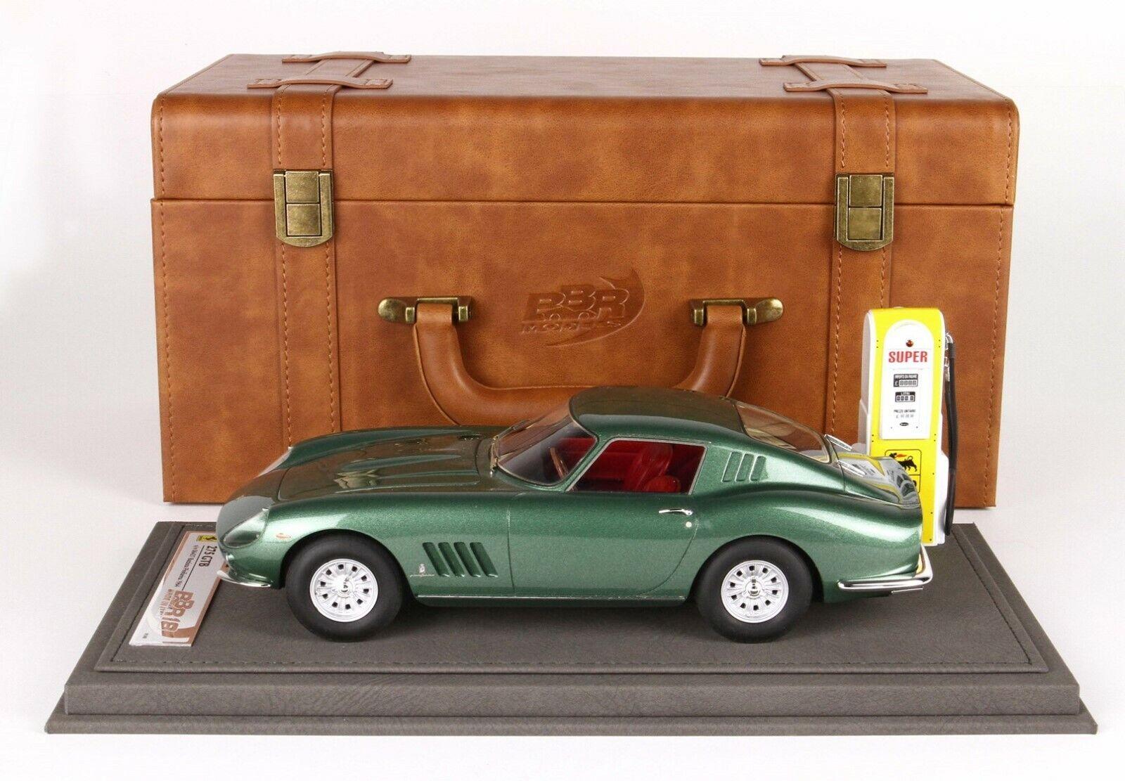 Ferrari 275 GTB S N Battista PINIFARINA personnel car valise, PC-Box BBR 1 18