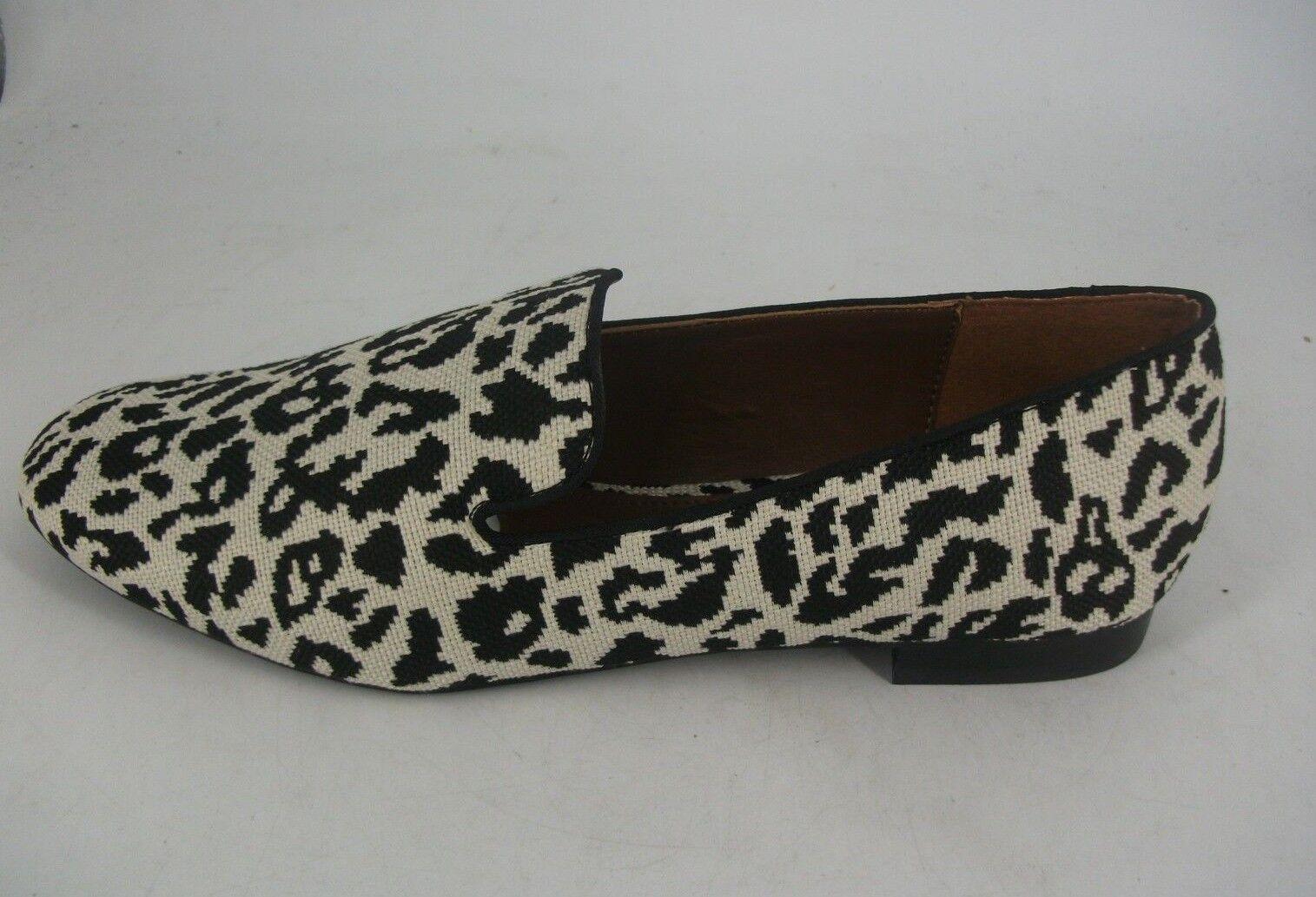 NEXT Animal Print Textile Loafers UK 7 EU 41 JS182 XX 07