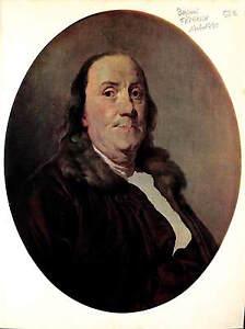 Benjamin-Franklin-President-USA-ILLUSTRATION-1950