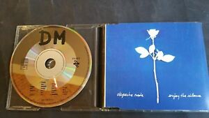Depeche-Mode-Enjoy-The-Silence-amp-Sibeling-France-4-Track-Remix-CD-rare-limited