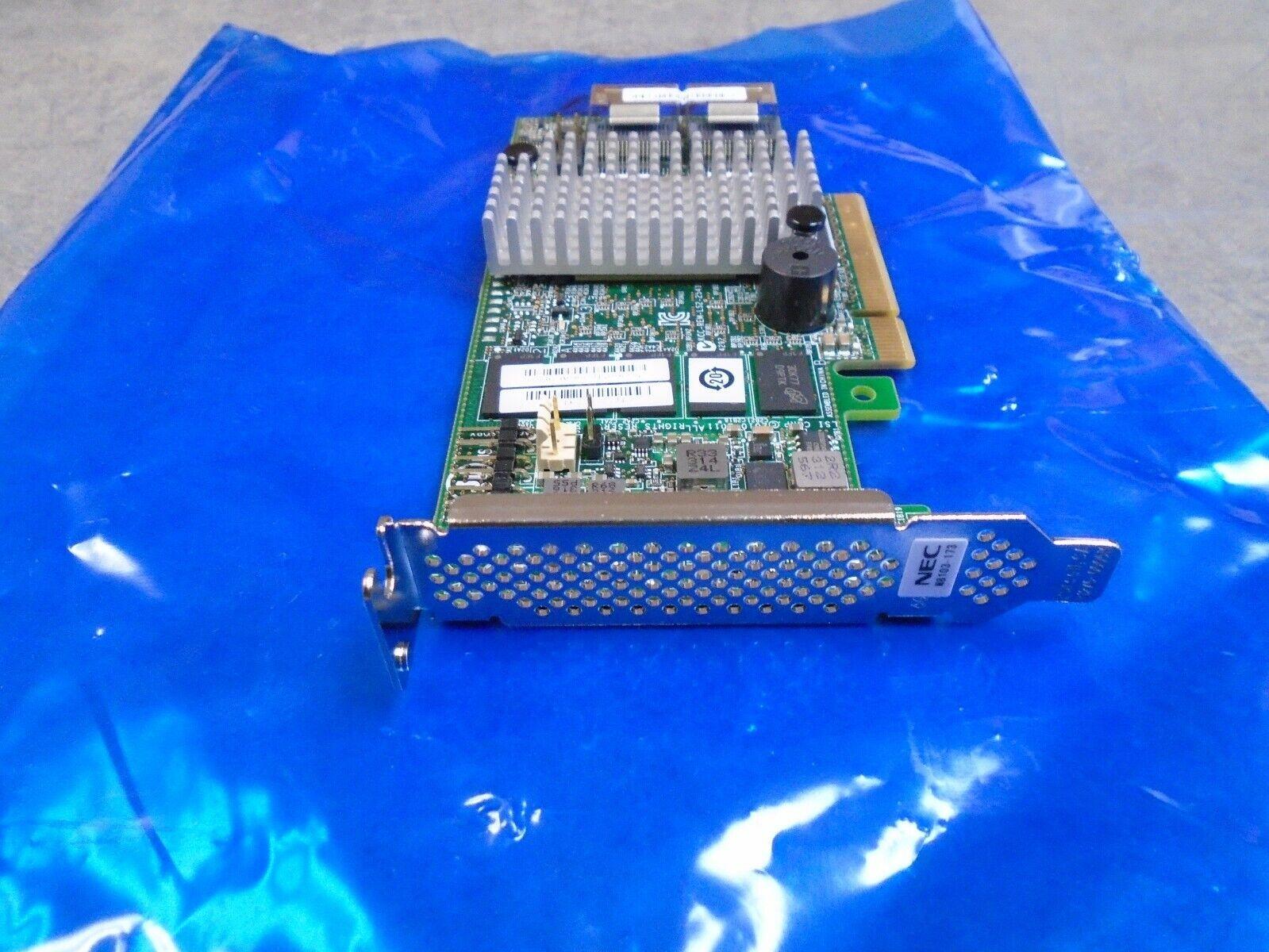 NEC/LSI Raid Card N8103-174 1GB PCI-e low profile