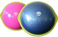 Bosu Ball Sport 50cm Balance Trainer Exercise Gym Workout W/ Pump Blue Or Pink