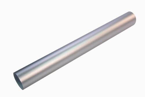 21€//m² CHROM MATT SILBER 30 x 152 cm metallic Auto Klebe Folie 3D flex