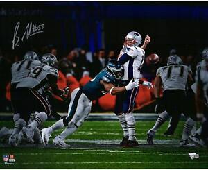 Brandon-Graham-Eagles-Signed-16x20-Sack-Fumble-Super-Bowl-LII-Champs-Photo
