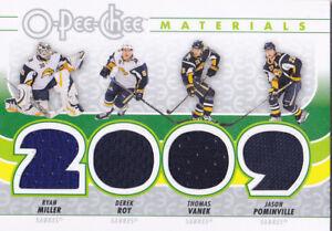 09-10-OPC-Ryan-Miller-Thomas-Vanek-Pominville-Derek-Roy-Jersey-Sabres-2009
