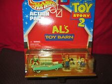 """HOT WHEELS TOY STORY II """"AL'S BARN"""" 1/64th scale Car & Figures -MIB- Excellent!"""