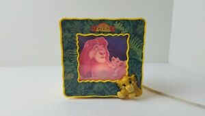 Disney-The-Lion-King-Projector-Bedside-Light-Vintage-Mufasa-Simba-Tested-Works
