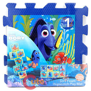 Finding Dory Soft Foam Puzzle Mat Hopscotch Play Mat 8pc