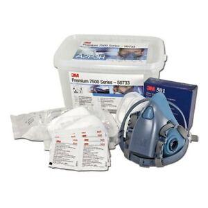 kit masque 3M 50733 série 7500 avec filtres A2P3