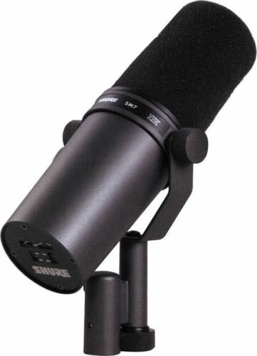 shure sm7b dynamic wired professional microphone ebay. Black Bedroom Furniture Sets. Home Design Ideas