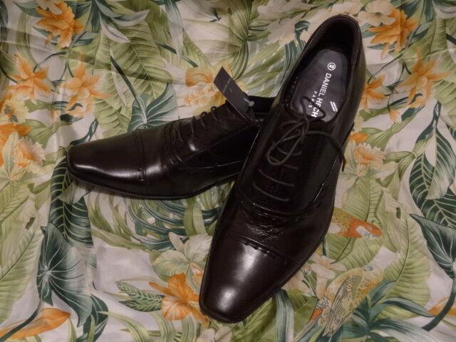 Daniel Hechter Schuh 45 Mokassin Budapester Leder Schnürschuhe Schnürer Business Budapester Mokassin 90680f