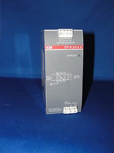 115VAC 220-240V AC//DC 10A at 24VDC ABB Power CP-S 24//10.0 Power Supply Out In