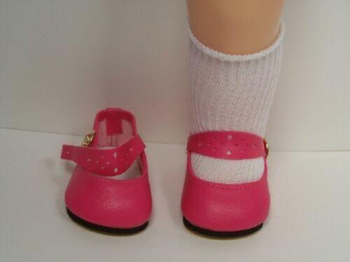 """Debs PINK Splendid Doll Shoes w//BUCKLE For 16/"""" Terri Lee Dark DK"""