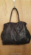 Coccinelle Goodie Bag Black leather hand bag shoulder bag purse