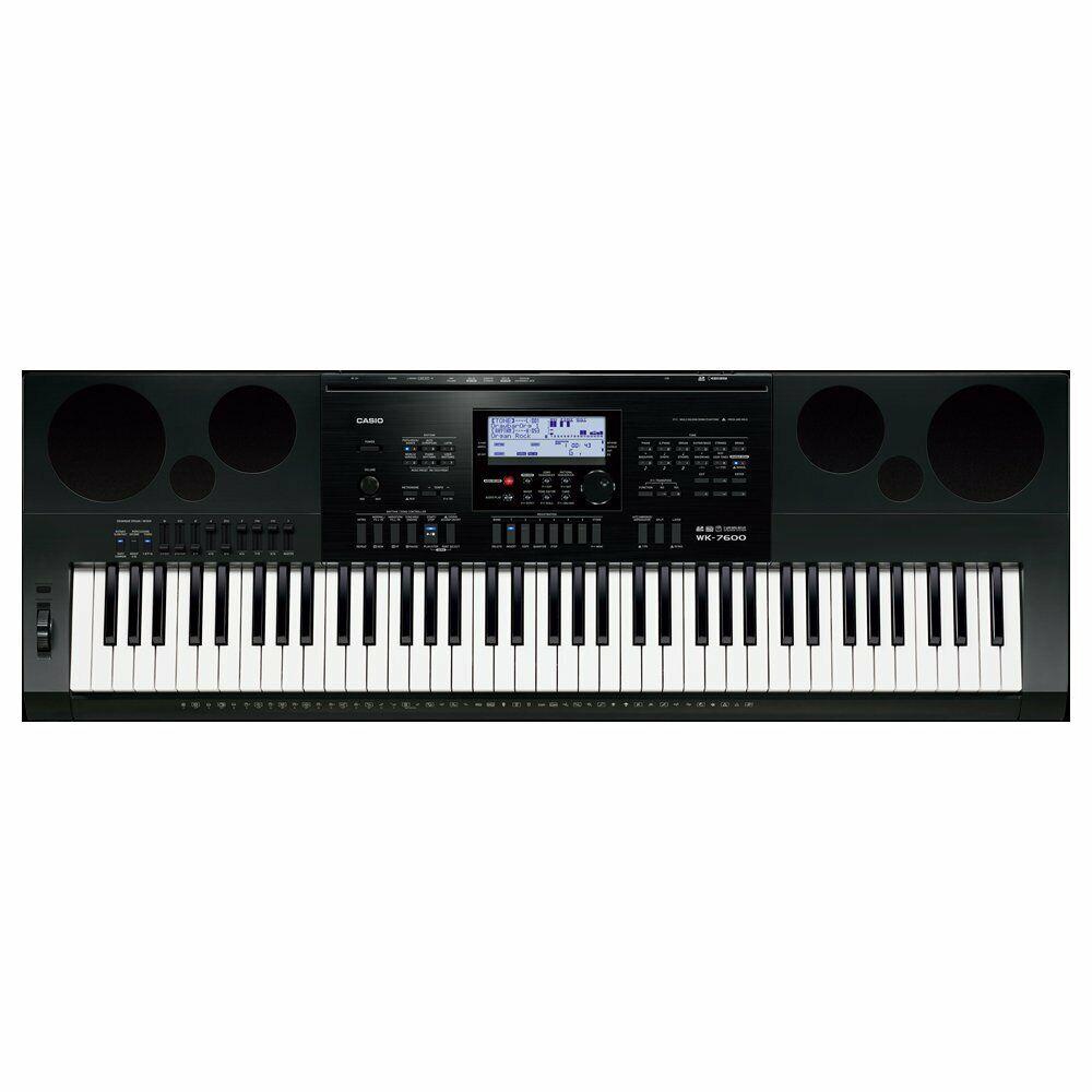 Casio WK7600 76-Key Full-Größe Workstation Electronic Digital Keyboard