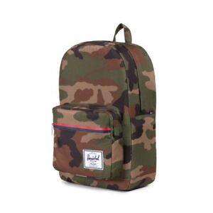 Herschel-Supply-Company-Pop-Quiz-Camo-Backpack-15-039-039-laptop-22L-New