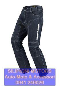 SPIDI-FURIOUS-TEX-JEANS-J10-Blu-050-Jeans-da-Moto-con-Protezioni-Tecnico