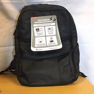 black The Ultimate Business Backpack Kleidung & Accessoires