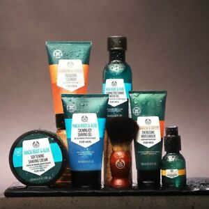 THE Body Shop Maca, Arber, Sport, attivista, barba olio, GUARANA' , Limone, Stan