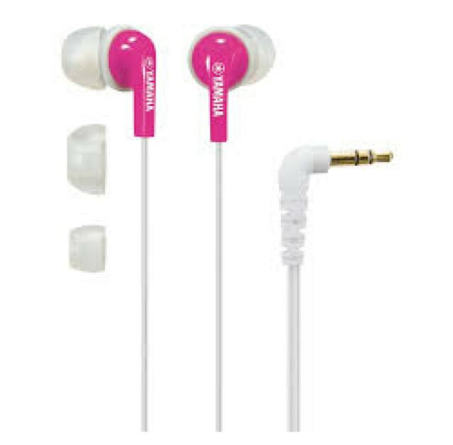 YAMAHA EPH-20 - Ecouteurs intra-auriculaires Blanc / Rose *NEUF*
