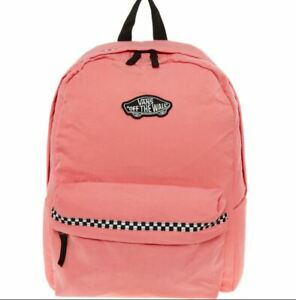 VANS PINK EXPEDITION II B RUCKSACK BACKPACK CHECKERBOARD OFF THE WALL Rrp £50