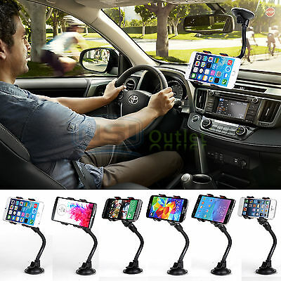 Car Windshield Suction Cup Holder Mount For iPhone 6S Samsung Galaxy S8/S8 Plus